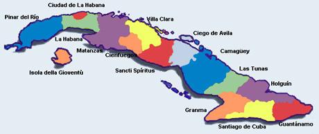 mappa_di_cuba_province